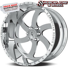 "AMERICAN FORCE BLADE SS6 MIRROR POLISHED 22""x12 WHEELS RIMS 6 LUG (set of 4) NEW"