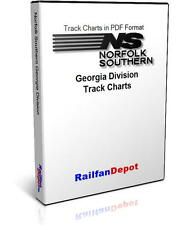 Norfolk Southern Georgia Division Track Chart 2002 - PDF on CD - RailfanDepot