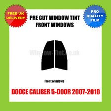 DODGE CALIBER 5-DOOR 2007-2010 FRONT PRE CUT WINDOW TINT KIT