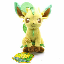 "New 7.5"" LEAFEON Pokemon Rare Soft Plush Toy Doll/PC2075"