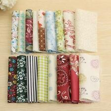 100X 4 ''  Fabric Square Floral Cotton Patchwork Quilting Cloth DIY Craft Sewing