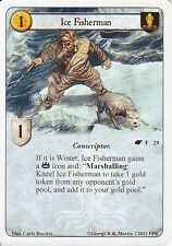 3 x Ice Fisherman AGoT LCG 1.0 Game of Thrones The Winds of Winter 29