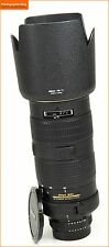 Nikon AF-S 80-200mm F2.8D Lente Zoom Telefoto Manual centrarse ED Free UK Post