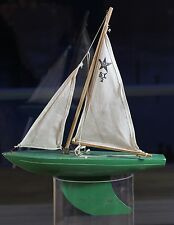 VINTAGE COLLECTABLE TOY BOAT BIRKENHEAD STAR YACHT 47CM