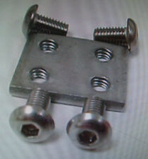 50 of The Worlds Best Stainless Steel G-Scale Track Locks Fits LGB,USA, & Others