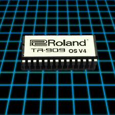 Roland TR-909 OS V4 ROM EPROM Upgrade, Timing Fix!