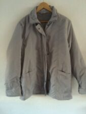 Claire Neuville Lightly Padded Jacket Size 14/16 Pale Grey  R9015