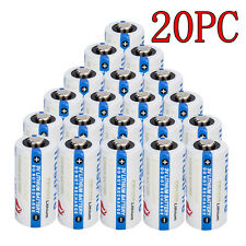 20xTrustFire CR123A 1400mAh Lithium Battery 3.0VNon-Rechargeable Electronic