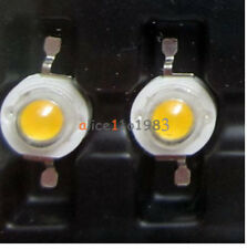 Imported 50PCS 3W Led Chip High Power LED Beads 200LM Warm White