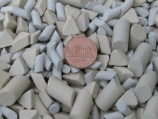 Ceramic Tumbling Media Mixed 3 Lb Cylinder and Triangle Lapidary Non Abrasive