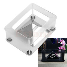 DIY Smartphone into 3D Holographic Hologram Display Stand Projector White