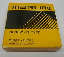 #1218 Marumi P.L. Filter Polfilter Polariser 49 mm. Neu New