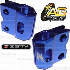 Zeta Azul Freno Manguera línea Abrazadera Para Honda Cr 250 1990-2003 Motocross Enduro Nuevos