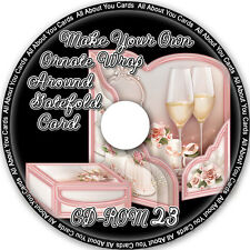 Make Your Own Ornate Wrap Around Gatefold Card CD-ROM 23