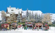 BUSCH 1059 H0 Weihnachtsmarkt, Bausatz, Neu