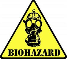Biohazard Mask iron-on/sew-on cloth patch  (cv)