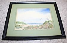 "BEAUTIFUL WATERCOLOR ""DEADTREE"" SIGNED THEODORE NYSTROM?"