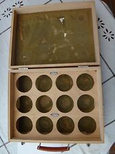 ♕♕♕ UNIQUE !!! RARE - Wooden Box for CURTA Calculators TYPE II - GOOD STATE ♕♕♕