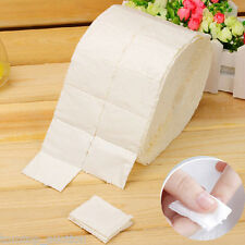 500Pcs/Roll Wipe Pad Paper Nail Soak Off Gel Wrap Gel Polish Remover Cleaner Kit