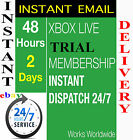Xbox Live 2 Day 48 hours Trial GOLD Code 2 Days - Instant Dispatch
