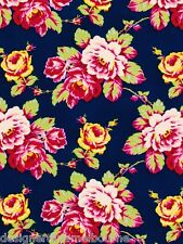 Lucky Girl navy Marcella by jennifer Paganelli cotton fabric
