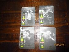"complete set of 4  BOAGS,Tasmania,""Greatness rarely comes easy""  COASTERS"