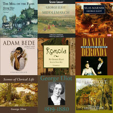 George Eliot Audiobook Collection on mp3 DVD