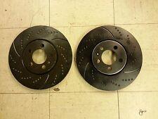 34168DS (FRONT 2pcs) Performance Sport Dimpled Slotted Brake Disc Rotor (288 mm)