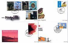 [53468] Belgium Belgien Belgique 2008 Complete FDC Year Set of 40 covers