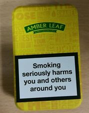 12.5g Amber Leaf Tobacco Tin