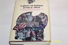 A Piece of Lettuce, George P. Elliott, Daly and Max Studio 1964, SIGNED, Rare