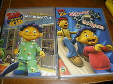 2 Sid the Science Kid DVD DVDs Feeling Good Inside & Out, Gizmos & Gadgets
