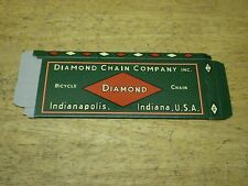 NOS  Diamond Bicycle Skip Tooth Chain Box Only Schwinn Shelby Colson Monark &