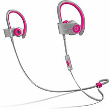 !! orig. Beats - powerbeats2 wireless Ear-Hook - grau/pink (by Dr. Dre) - NEU !!