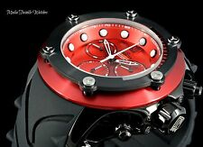 Invicta 52mm Jason Taylor Specialty Subaqua ELEVATED BEZEL Red & Black Watch