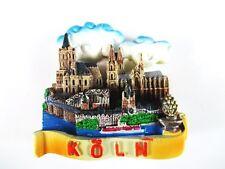 Köln Dom Cologne Rhein 3D Poly Fridge Magnet Herz Souvenir Germany Deutschland !