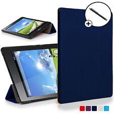 Forefront Hülle Blau Klapp- Smart Schutzhülle Acer Iconia Eine 7 B1-780 Stift