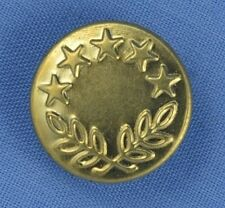 17mm Gold Jeans Buttons (x 5)