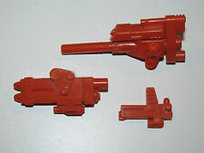 TRANSFORMERS G1  SPARE PART TECHNOBOTS AFTERBURNER 'MISSILES CANNON & BLASTER'