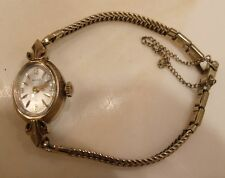 Vintage Women's Bulova N6 10k Rolled Gold Plate Wristwatch Watch