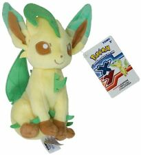 "Leafeon ~9"" Mini-Plush: Pokemon Evolution of Eevee Series"