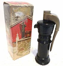 AVON 1968 PUMP Decanter with  WILD COUNTRY After Shave Lotion EMPTY