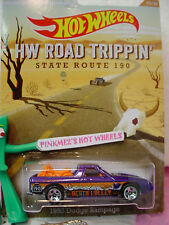 2014 Walmart #23 Road Trippin '82 DODGE RAMPAGE∞Purple/OR∞Death Valley~HotWheels