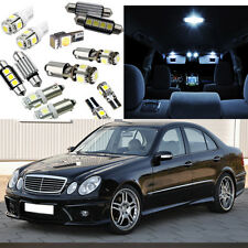 26×White LED Interior SMD Light Kit No Error for Mercedes Benz W211 E Class03-09
