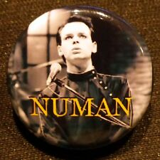 Gary Numan / Tubeway Army - Saturday Night Live 25mm Pin Badge GN44