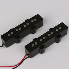 One Set of 4 String Jazz Bass Guitar Black Bridge Pickup New