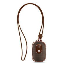 iBall Music Dangle Bluetooth Portable Speaker With Mic (Brown)
