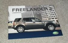 Land Rover Freelander 2 Commercial Brochure 2008 - S & XS