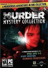 Video Game PC Murder Mystery Collection Still Life 1 & 2 Post Mortem Cameron Fil