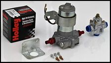 100 GPH RED SERIES ELECTRIC FUEL PUMP WITH HOLLEY REGULATOR # S-6253-KIT